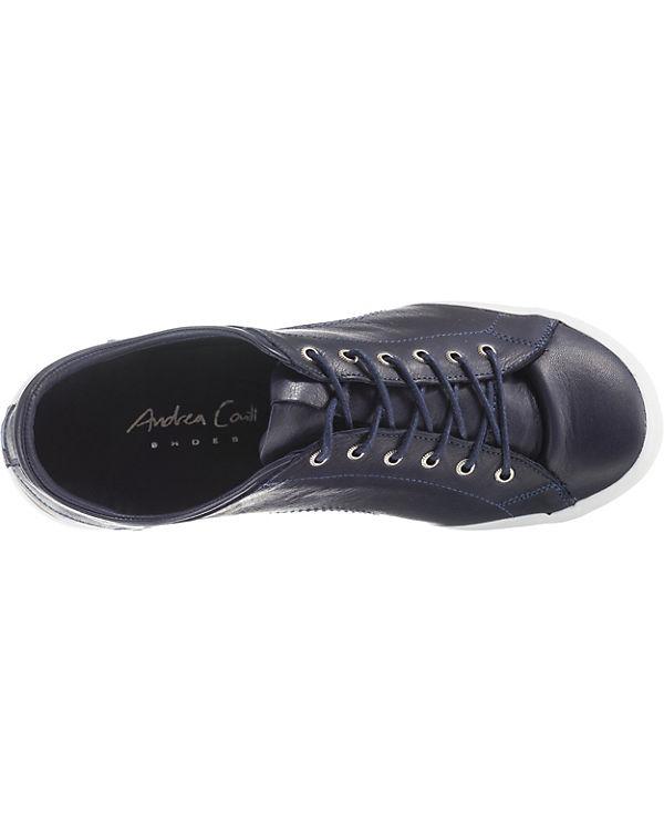 Andrea Conti, Sneakers Low, blau blau blau 0f3536