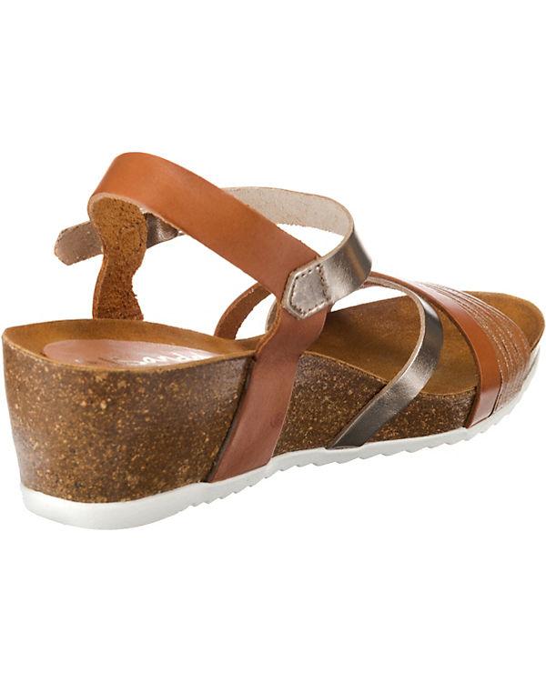 Oh! my Sandals, Sandals, Sandals, Keilsandaletten, braun c10d80