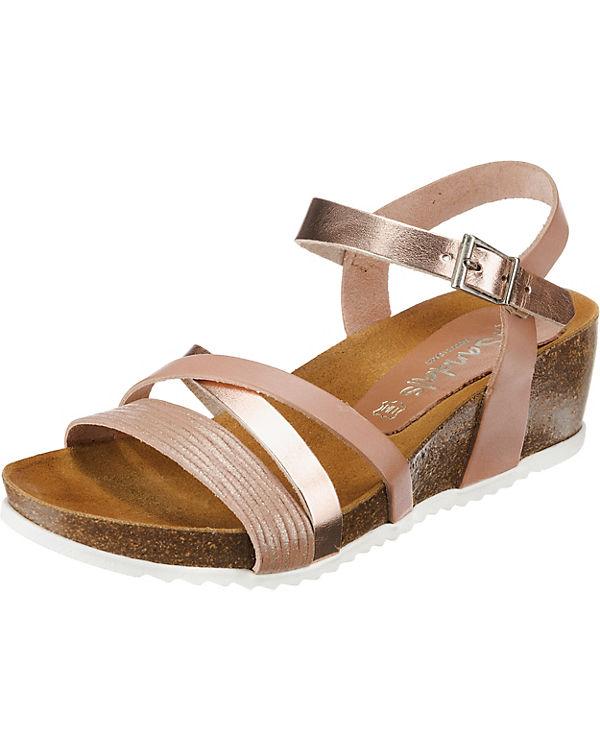 Oh! my Sandals Keilsandaletten nude