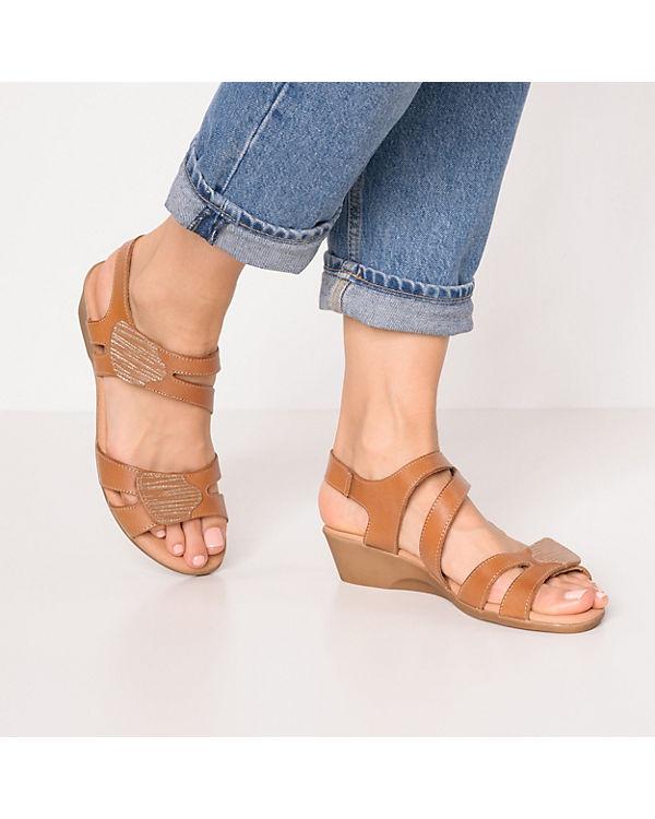 cognac my Oh Keilsandaletten Sandals Oh my wzFfCq60