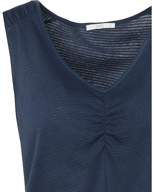 by Kleid ESPRIT Kleid by by ESPRIT edc edc blau Kleid ESPRIT edc blau OqHTdwp0nd
