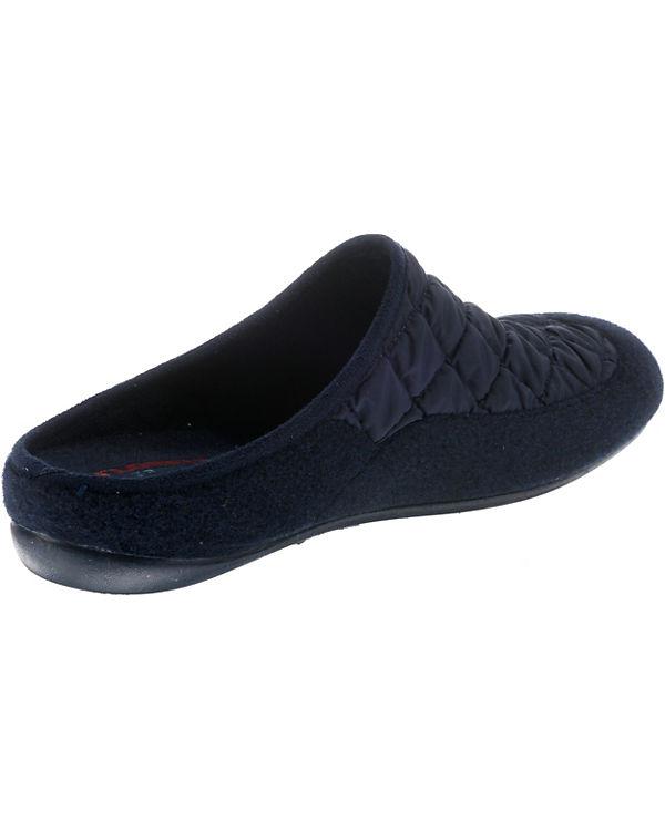 Florett, Livia  Pantoffeln, blau blau blau bf3c88