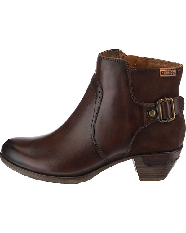dunkelbraun Pikolinos Pikolinos Ankle ROTTERDAM Boots ROTTERDAM nHWgqg7SX
