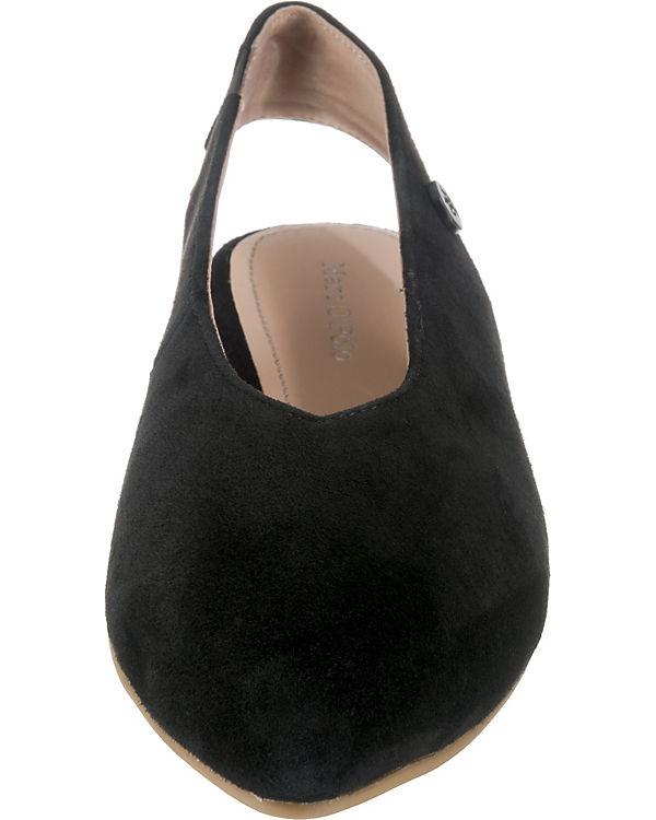Marc O'Polo schwarz Ballerinas Sling O'Polo Marc Sling 8dqfq