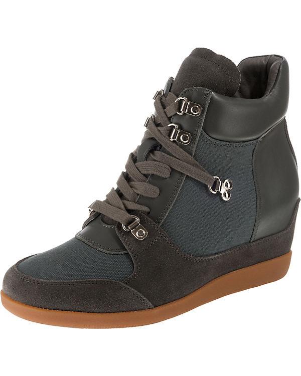 grau shoe the the Keilstiefeletten bear Keilstiefeletten bear shoe HxOZ0Oq
