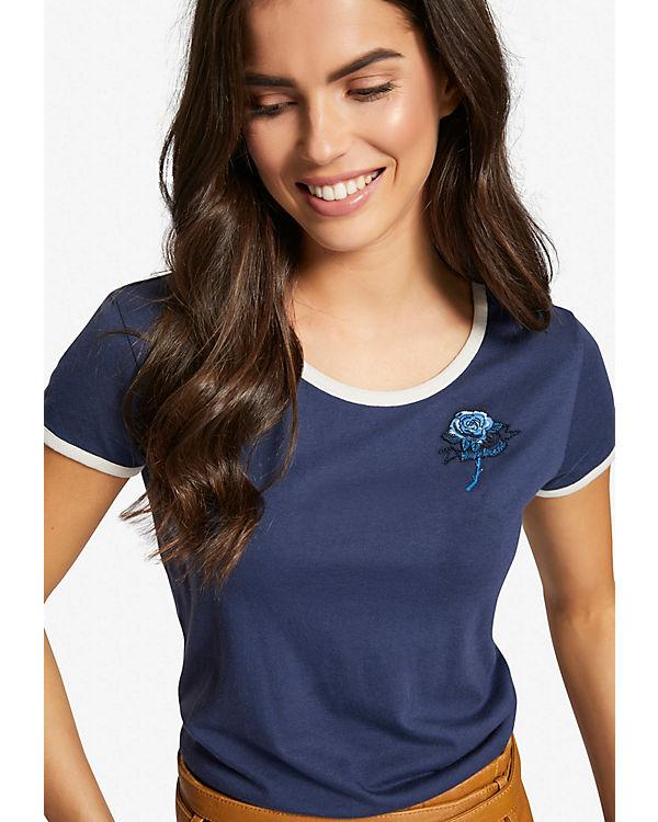 Khujo Shirt IWALANI blau IWALANI Shirt ROSE blau Khujo ROSE ItPRPqx