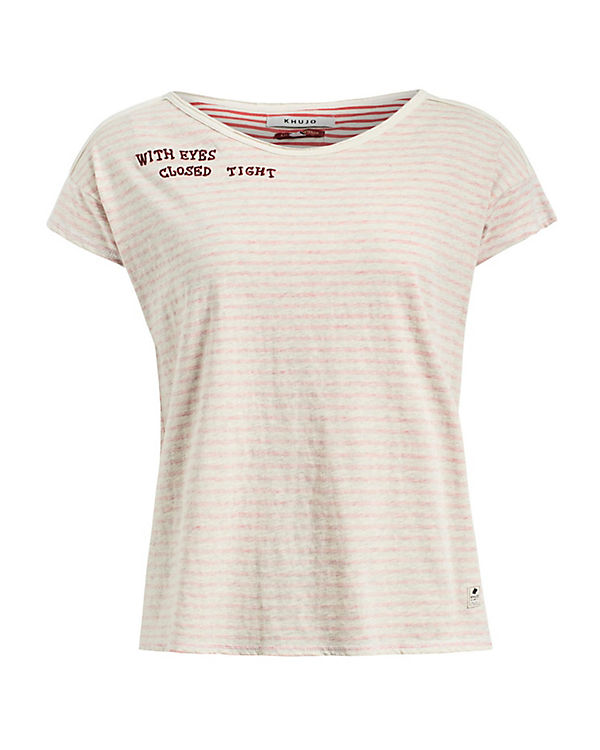 Khujo Khujo Shirt HAUNANI HAUNANI rosa rosa Shirt Khujo Shirt HAUNANI txp7q1xHw
