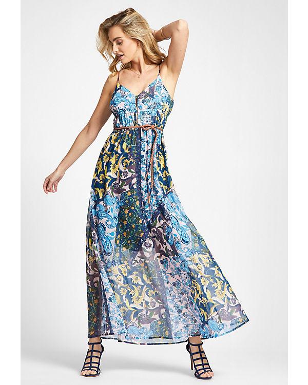 XANTHIA Khujo Khujo blau Kleid Kleid 6FpqwP