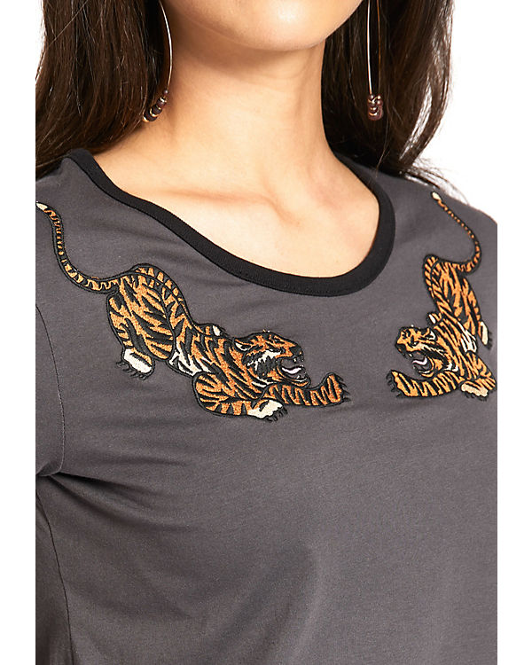 Khujo Shirt grau Khujo IWALANI IWALANI Shirt CAT rqSrUwa