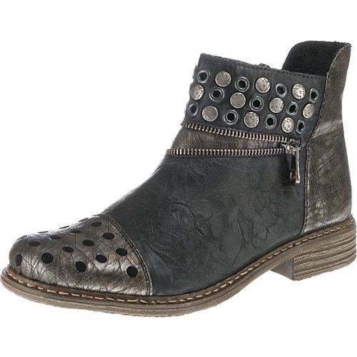 rieker Biker Boots anthrazit Damen Gr. 39