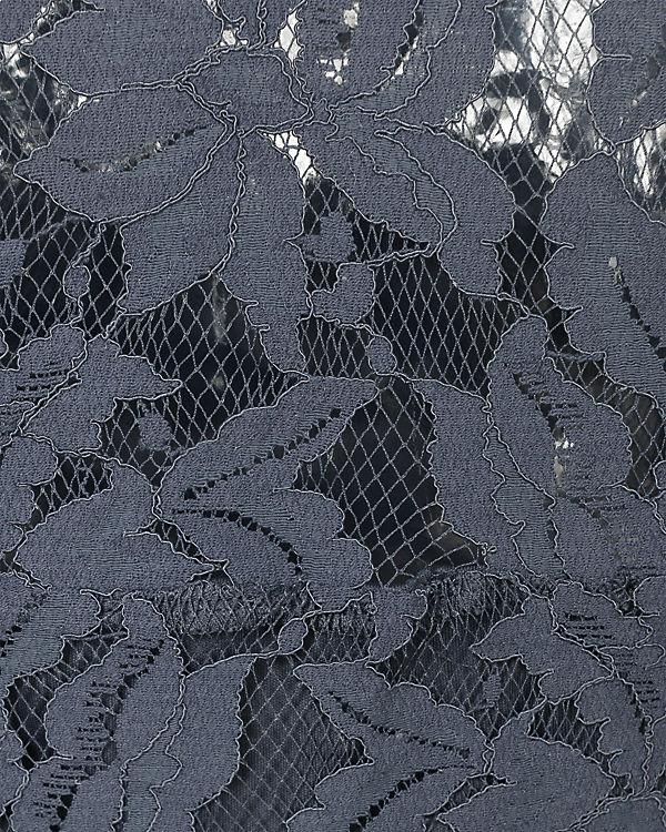 VILA VILA Spitzenkleid grau blau blau Spitzenkleid grau VILA qvIaTT