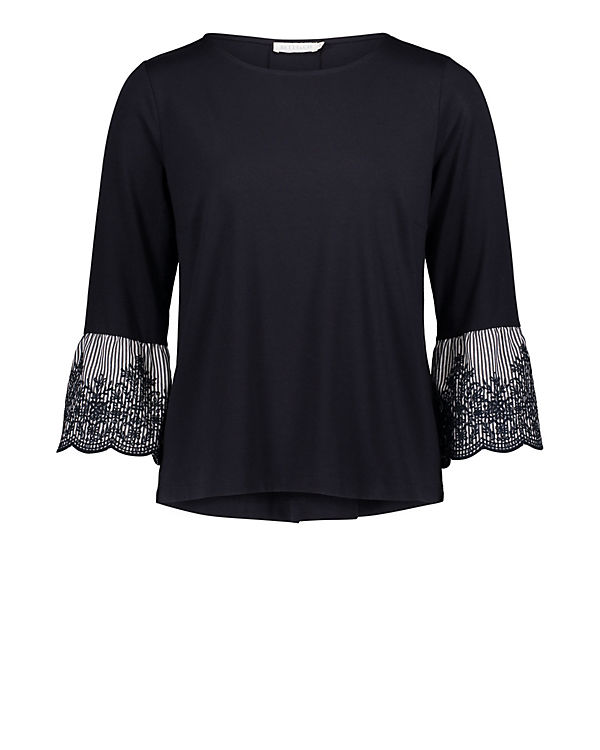 Betty & Co 3/4-Arm-Shirt blau
