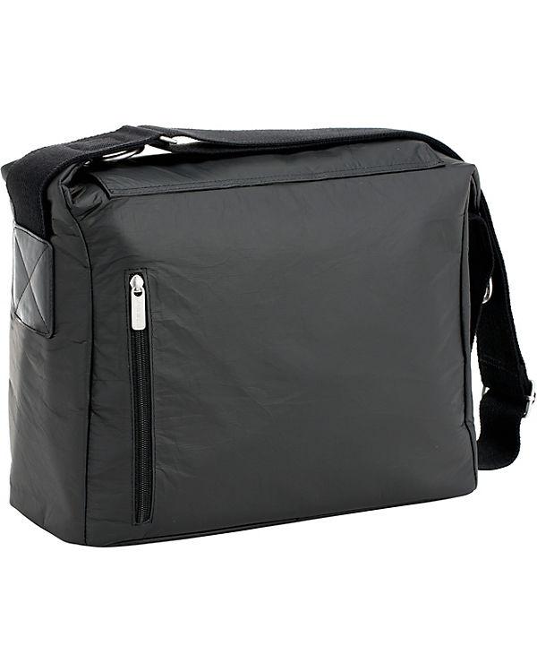 Tyve L盲ssig Bag Wickeltasche schwarz Messenger black L盲ssig Greenlabel Wickeltasche 7Sq4SUXwv