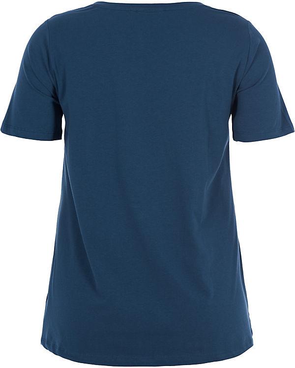 blau Zizzi T Zizzi T Shirt blau Shirt xwO0TqPg4