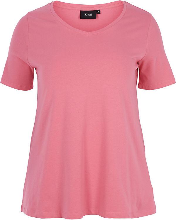 Shirt Zizzi rosa rosa Zizzi Shirt T T gYqdxtwg