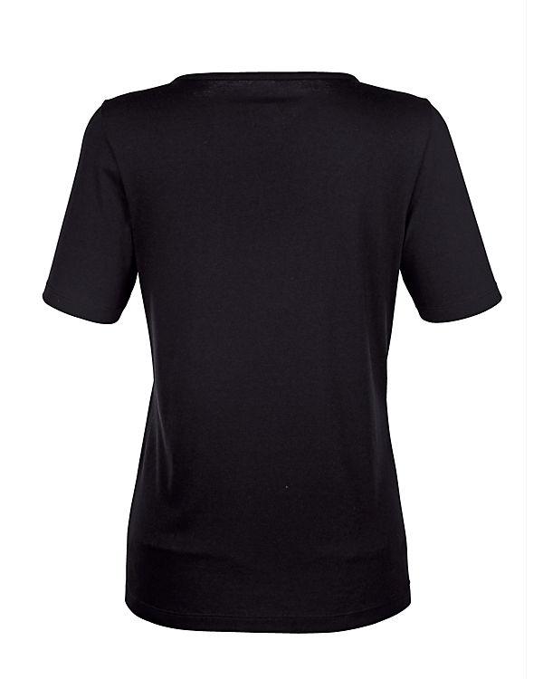 Paola schwarz T Paola T Shirt Shirt U6cqnPEW
