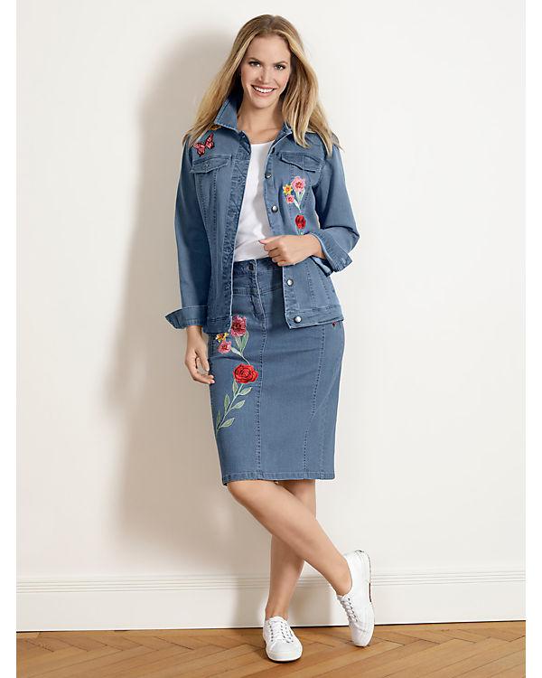 Spielraum Zuverlässig Neueste Paola Jeansrock blau Exklusive Verkauf Online BYBzrG