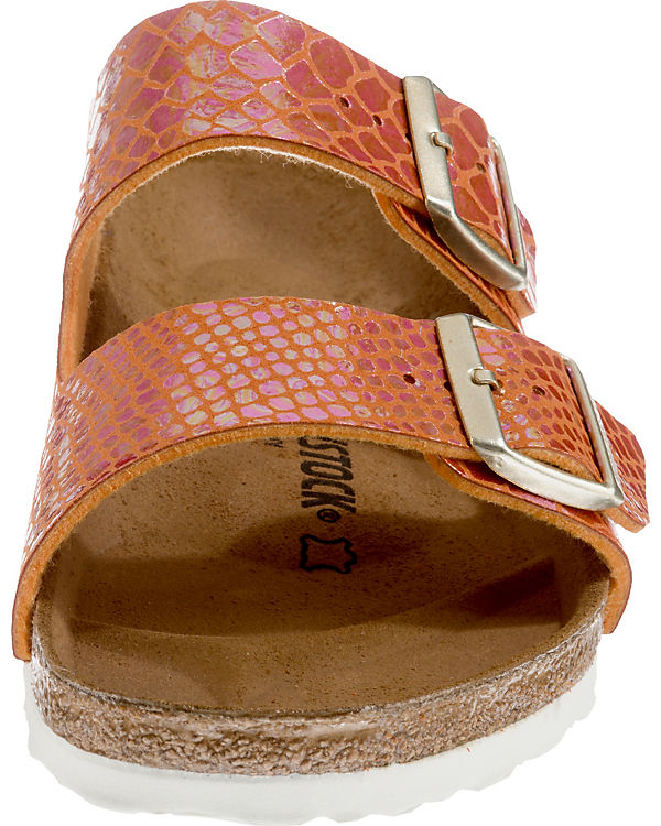 BIRKENSTOCK, Arizona weit Komfort-Pantoletten, Komfort-Pantoletten, Komfort-Pantoletten, orange 4fa73e