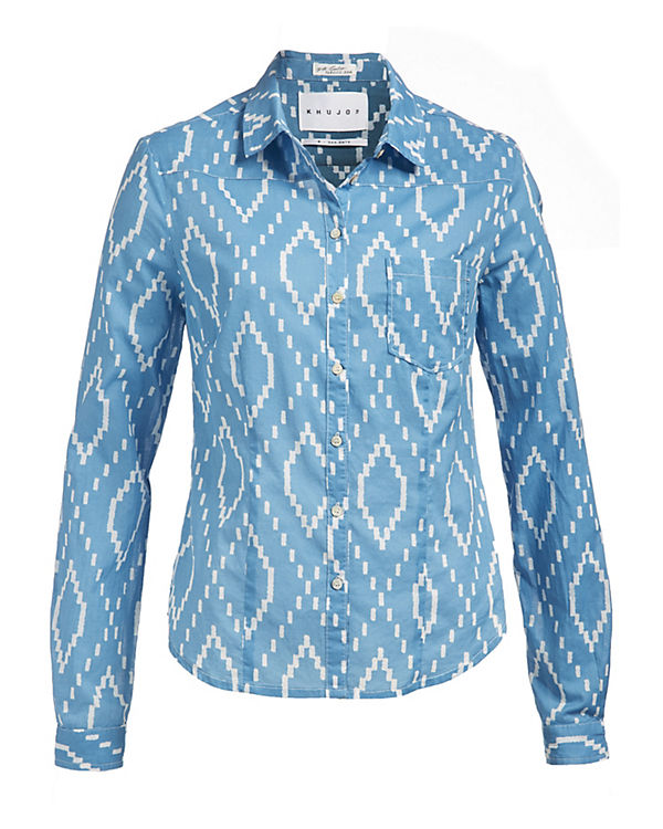 blau Shirt CONNY CONNY Shirt Khujo blau Khujo Eqfxqr