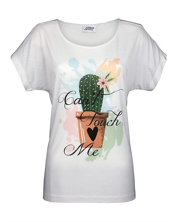 Amy Vermont T-Shirt weiß