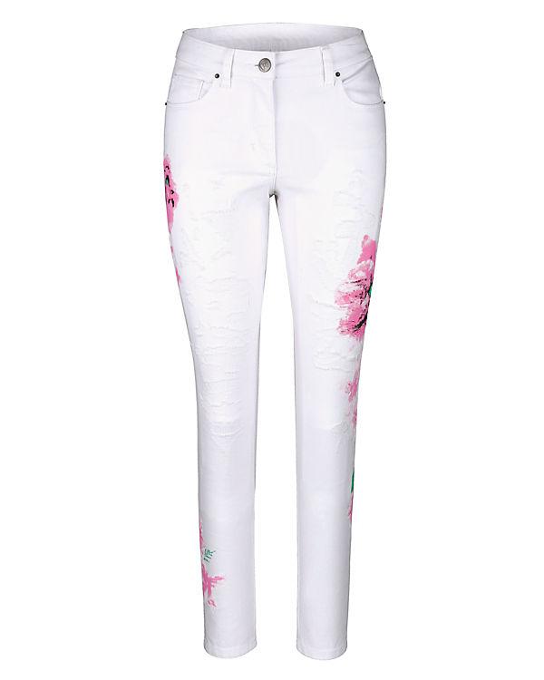 Amy Vermont Jeans weiß