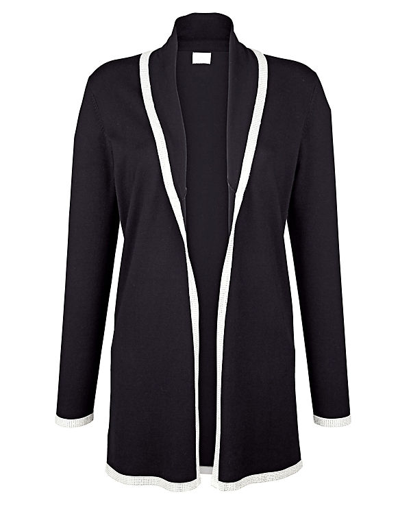 Alba Moda Strickjacke schwarz