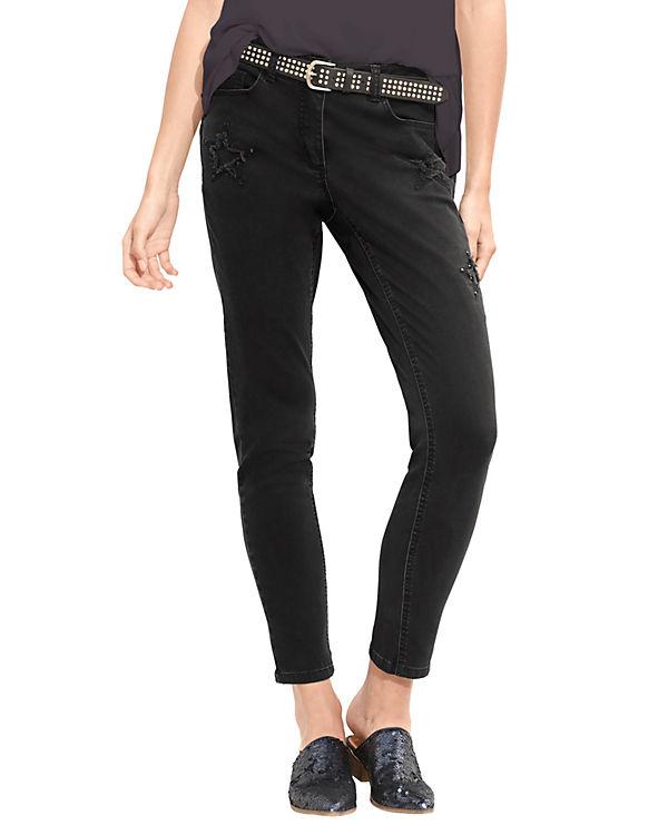 Amy Vermont Jeans schwarz