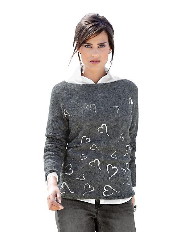 Alba Pullover Moda Moda Pullover grau Alba Alba Moda grau Pullover wFxaXX
