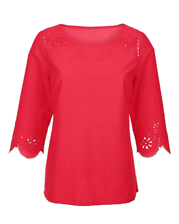 Amy Vermont Bluse rot