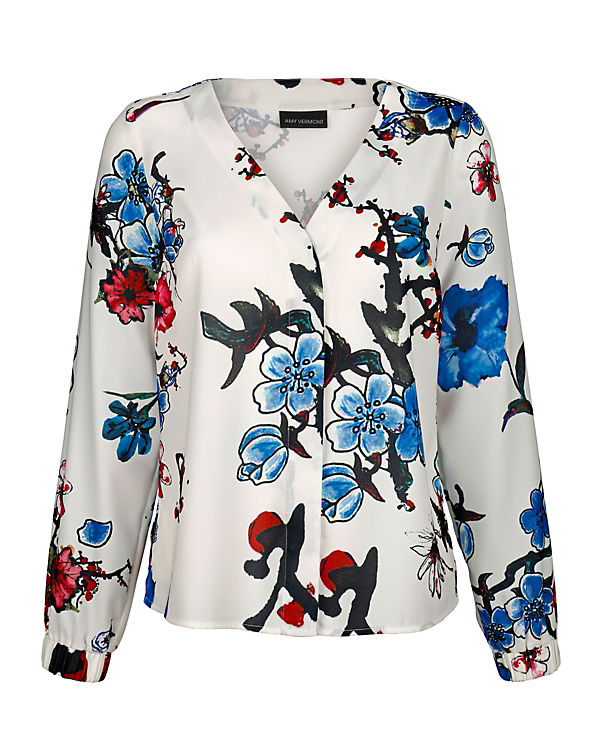 Amy Vermont Bluse wei