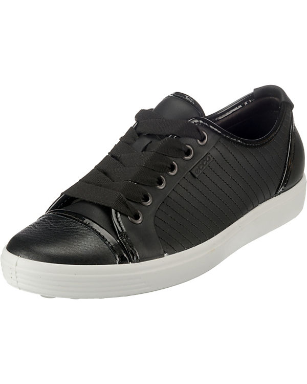 7 Sneakers ecco Ladies Soft schwarz Low q56zaz