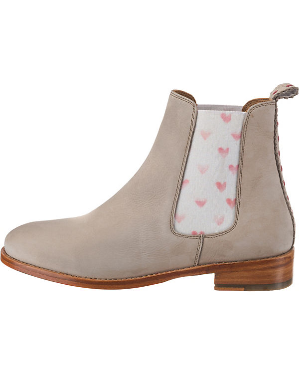 Boots Chelsea faded elastic hearts red CRICKIT Torrente beige RtwYgX