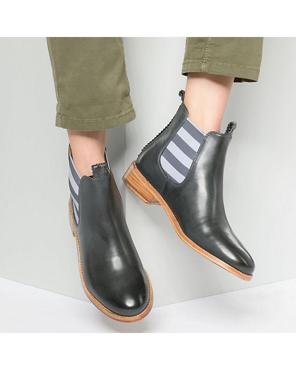 CRICKIT, Torrente elastic Chelsea stripes  Chelsea elastic Boots, grau aded6c