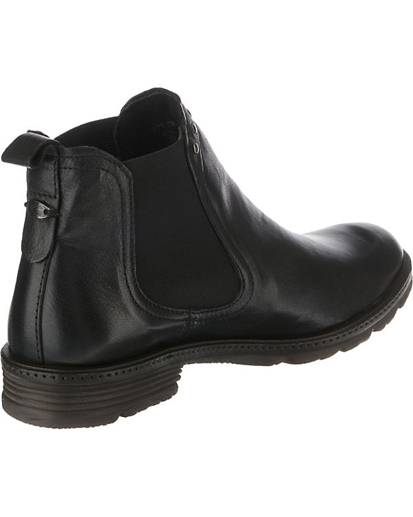 camel active, Aged Chelsea 78 Chelsea Aged Boots, schwarz f7143b