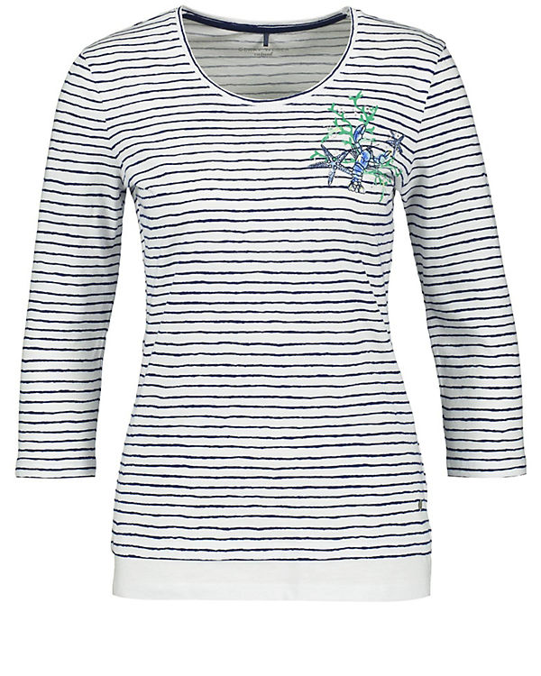 Gerry Weber 3/4-Arm-Shirt blau