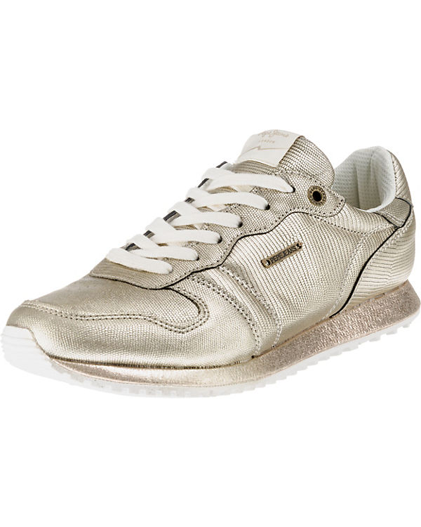 NEW Jeans GABLE gold Sneakers Pepe PLAIN Low vfE5q
