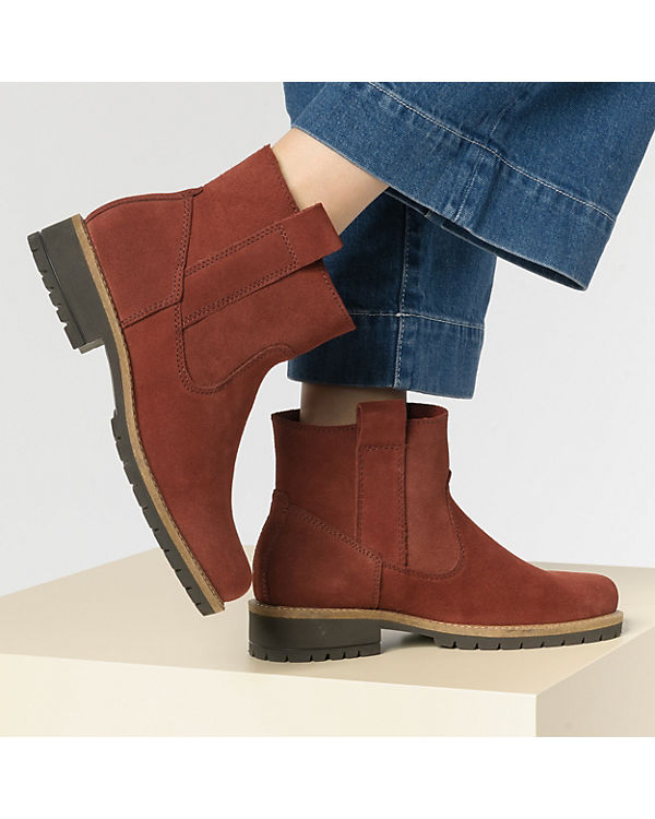 Boots ecco Elaine Ankle Ankle rot Boots rot ecco Elaine qUvtwx0C