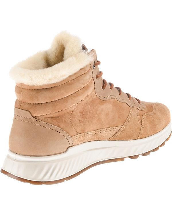 High ST braun Sneakers beige 1 ecco f1tOPqf