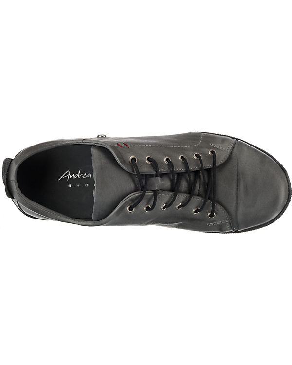 anthrazit Andrea Andrea Low Sneakers Conti Conti 5w8CX6q