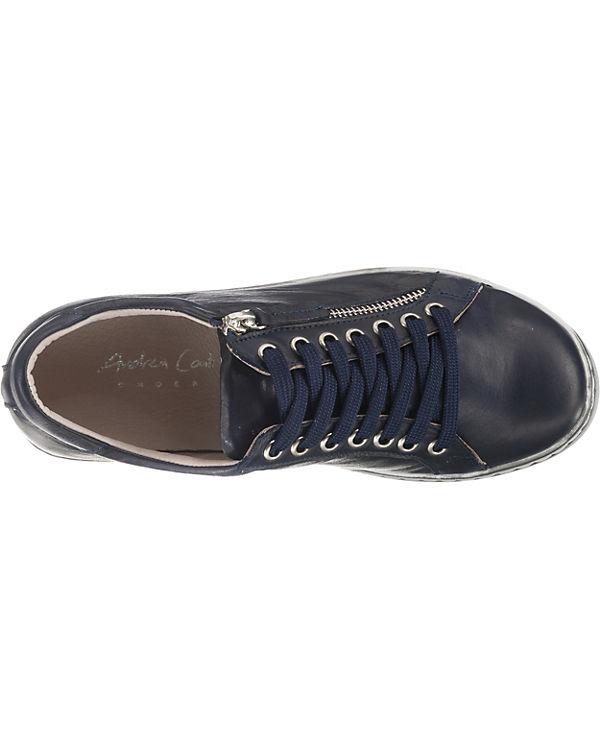 Conti Conti Sneakers dunkelblau Low Sneakers Low Andrea Andrea Conti Andrea dunkelblau P0RWq4X4