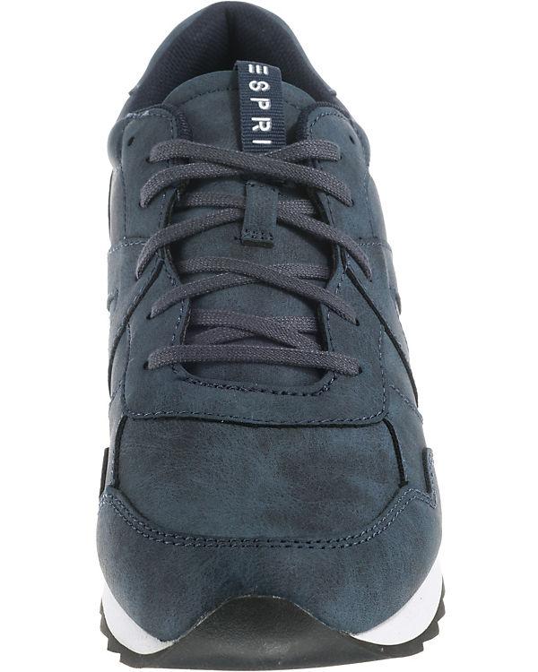 ESPRIT up Low Sneakers Astro Lace blau rFOqRrwx