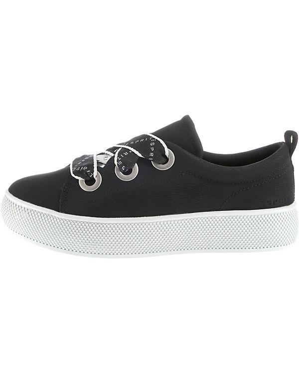 LU Sneakers ESPRIT schwarz Barbie Low nW7OacH7