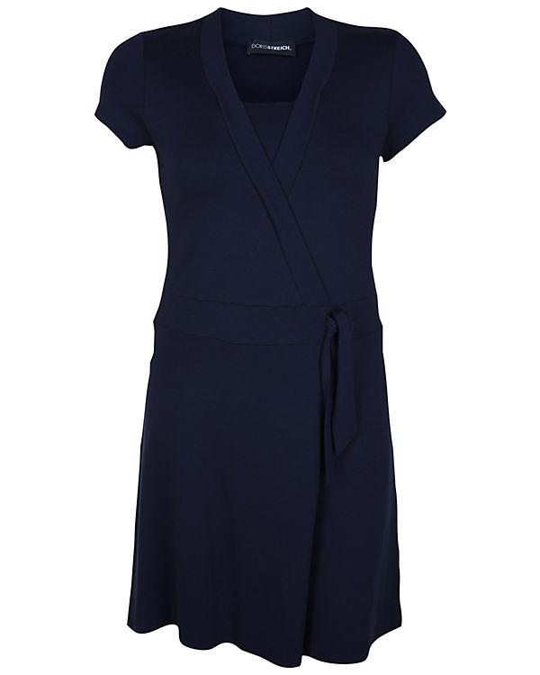 Doris Streich Jerseykleid blau