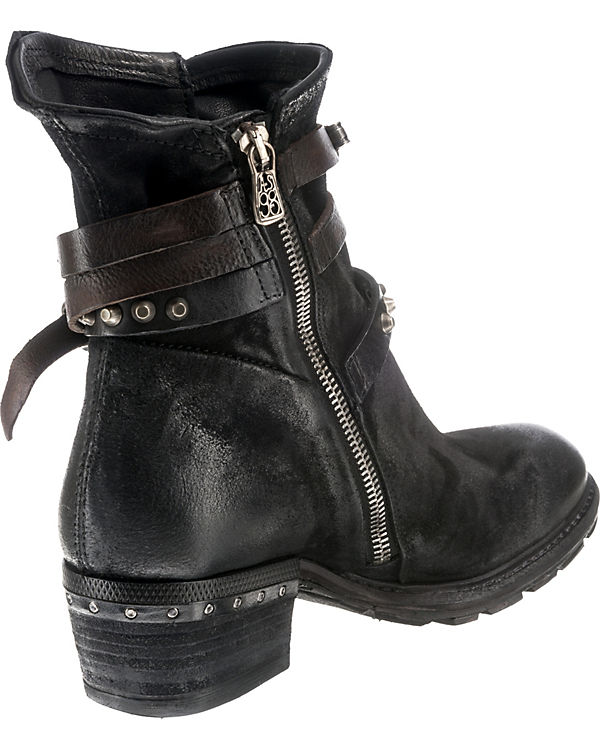 Klassische schwarz A 98 S Stiefeletten xqn1gw