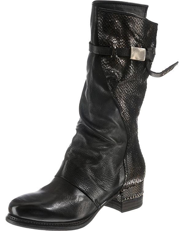 A.S.98 Klassische Stiefel schwarz