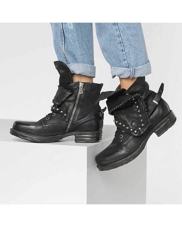 Klassische schwarz Stiefeletten S 98 A EPWaqBwYxW