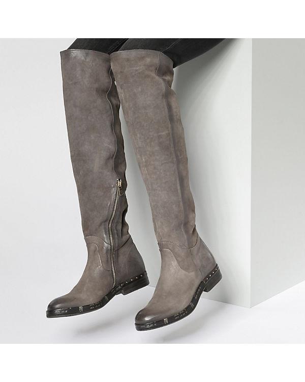 S Klassische A 98 Stiefel kombi grau RHd4T4