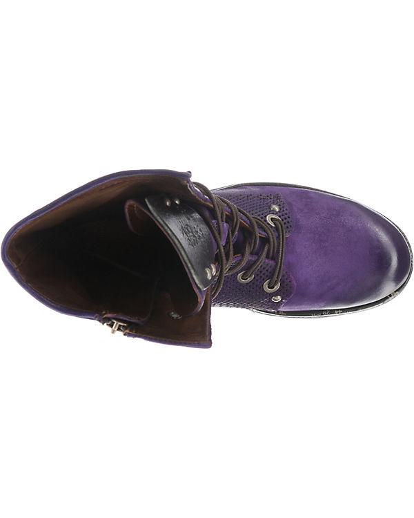 A violett S A S 98 Schnürstiefeletten fPr4qf