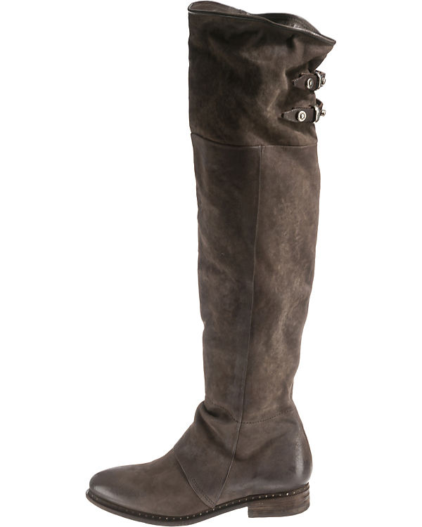 Overknee Stiefel S A kombi grau 98 qT004wEO