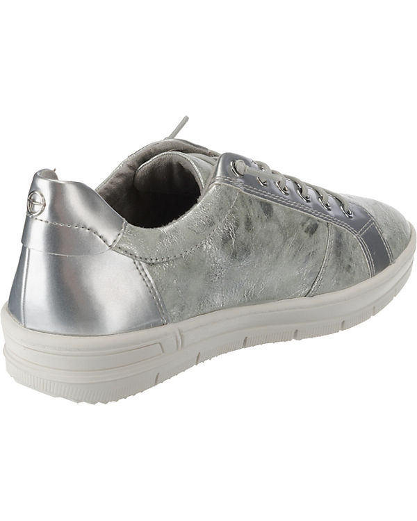 Tamaris Low Sneakers Tamaris Sneakers silber Low 0WSqwqHzE